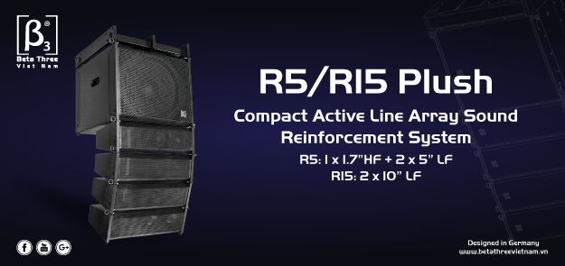 Line Array R5/R15 Plush