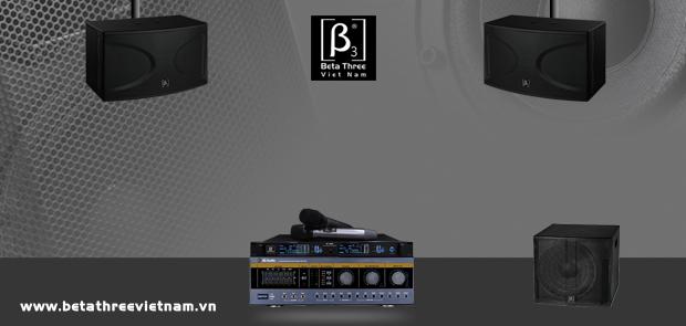 Lựa chọn dàn karaoke hợp sở thích cùng Beta Three (B3)